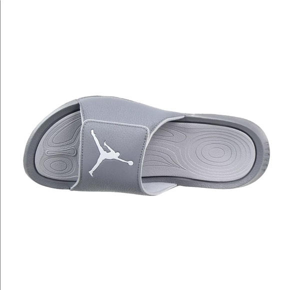 bfb9d3fa8d5a Jordan Hydro 6 Men Sandals Wolf Grey White
